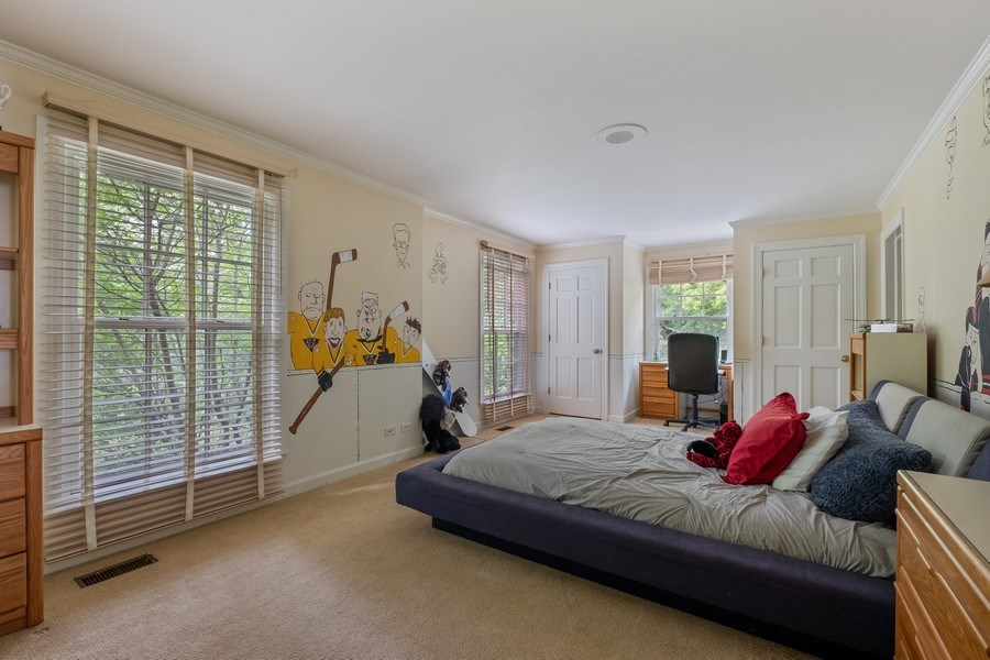 Real Estate Photography - 663 Circle Ln, Lake Forest, IL, 60045 - 5th Bedroom