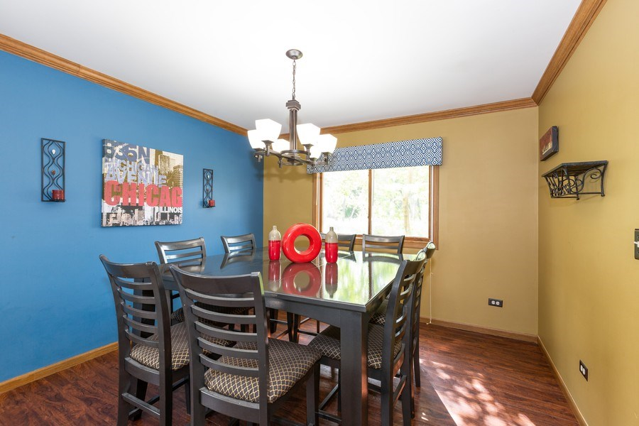 Real Estate Photography - 700 Auburn Ct, Crystal Lake, IL, 60014 - Dining Room