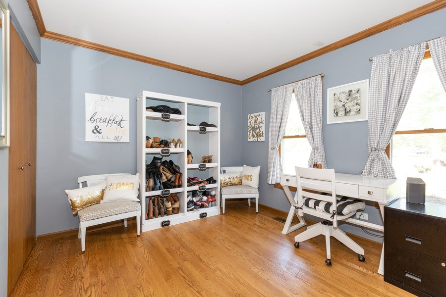 Real Estate Photography - 700 Auburn Ct, Crystal Lake, IL, 60014 - First FL 5th Bedroom and/or Den/Office Space
