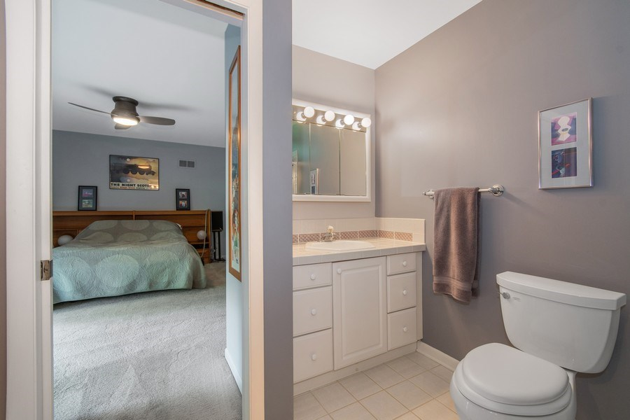 Real Estate Photography - 821 Burning Tree Lane, Naperville, IL, 60563 - Master Bathroom