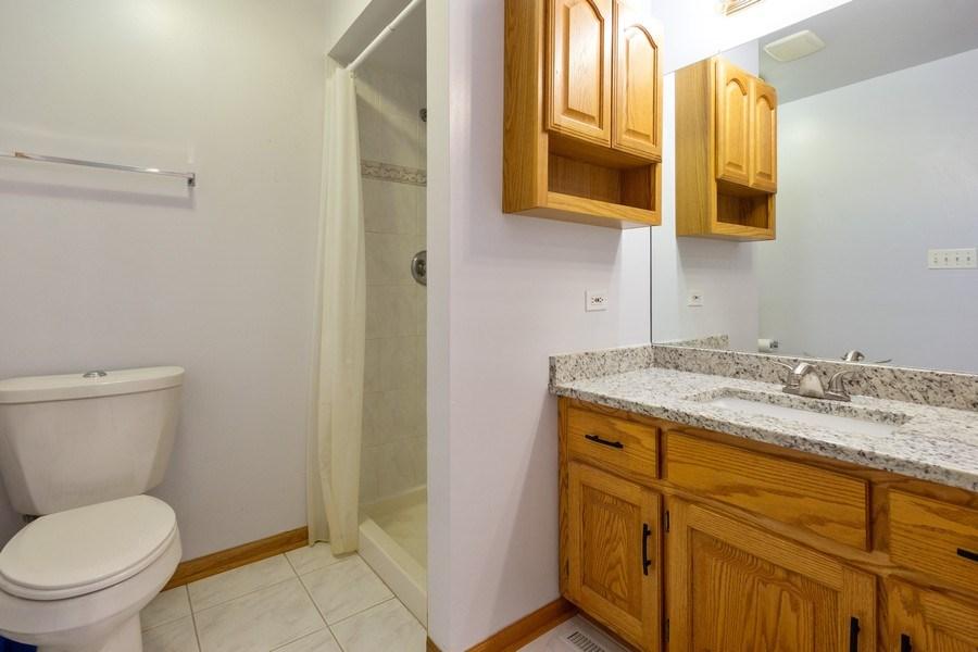 Real Estate Photography - 638 Superior Drive, Romeoville, IL, 60446 - Master Bathroom