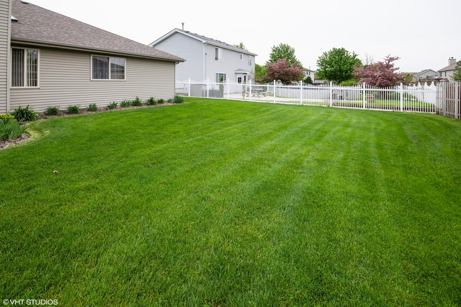 Real Estate Photography - 638 Superior Drive, Romeoville, IL, 60446 - Yard View