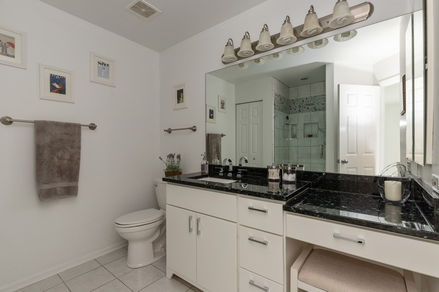 Real Estate Photography - 437 Ashwood Ct, Lindenhurst, IL, 60046 - Master Bathroom
