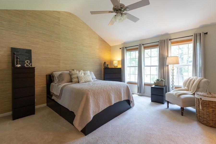 Real Estate Photography - 1128 Chesapeake Blvd, Grayslake, IL, 60030 - Master Bedroom