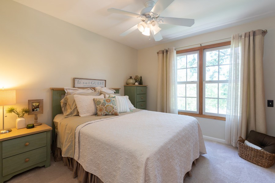 Real Estate Photography - 1128 Chesapeake Blvd, Grayslake, IL, 60030 - 2nd Bedroom