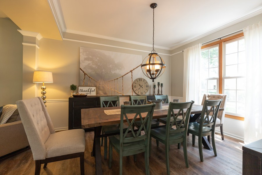 Real Estate Photography - 1128 Chesapeake Blvd, Grayslake, IL, 60030 - Dining Room
