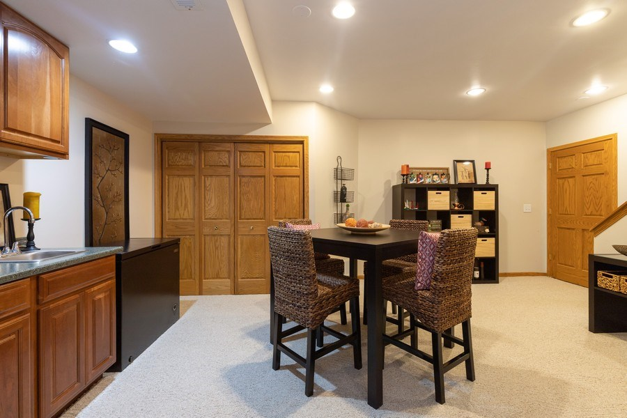 Real Estate Photography - 1128 Chesapeake Blvd, Grayslake, IL, 60030 - Basement