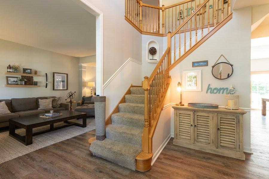 Real Estate Photography - 1128 Chesapeake Blvd, Grayslake, IL, 60030 - Foyer