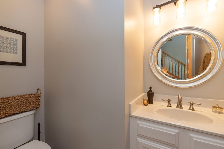 Real Estate Photography - 1128 Chesapeake Blvd, Grayslake, IL, 60030 - Bathroom