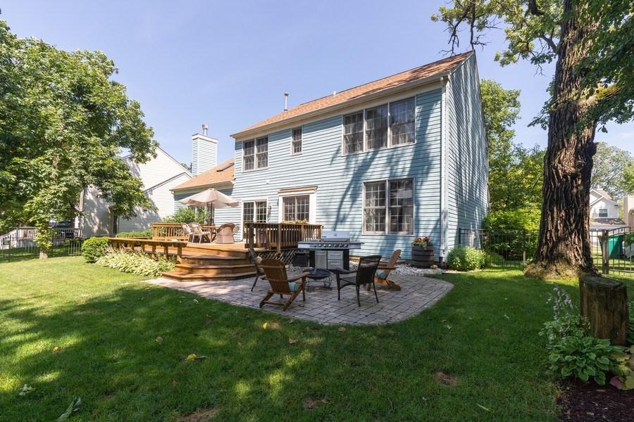 Real Estate Photography - 1128 Chesapeake Blvd, Grayslake, IL, 60030 - Rear View