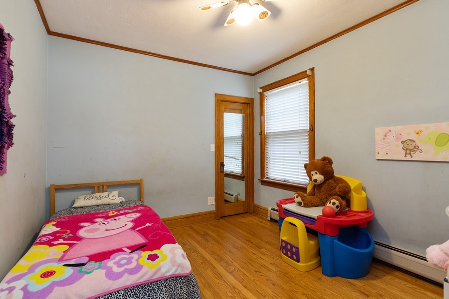 Real Estate Photography - 3703 Cuyler Ave, Berwyn, IL, 60402 - Bedroom