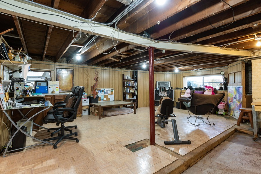 Real Estate Photography - 3703 Cuyler Ave, Berwyn, IL, 60402 - Basement