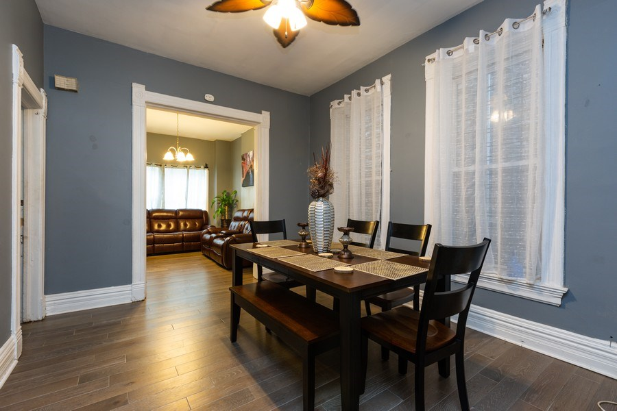 Real Estate Photography - 1122 N. Wolcott Avenue, Chicago, IL, 60622 - Dining Room