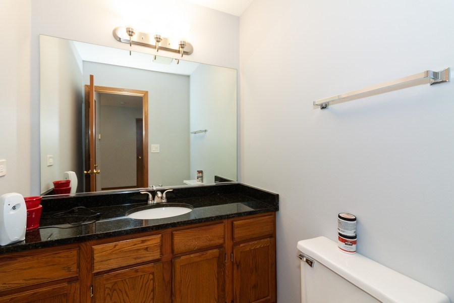 Real Estate Photography - 804 N. TAMARAC Boulevard, Addison, IL, 60101 - Half Bath