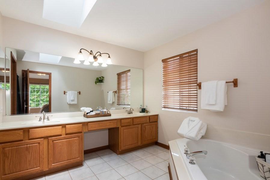 Real Estate Photography - 3 Fieldcrest Court, Algonquin, IL, 60102 - Master Bathroom