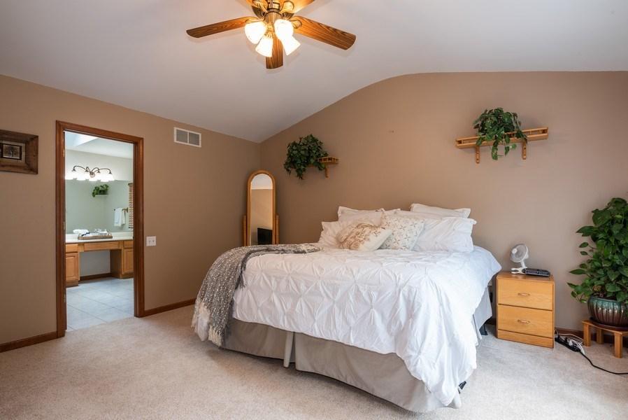 Real Estate Photography - 3 Fieldcrest Court, Algonquin, IL, 60102 - Master Bedroom
