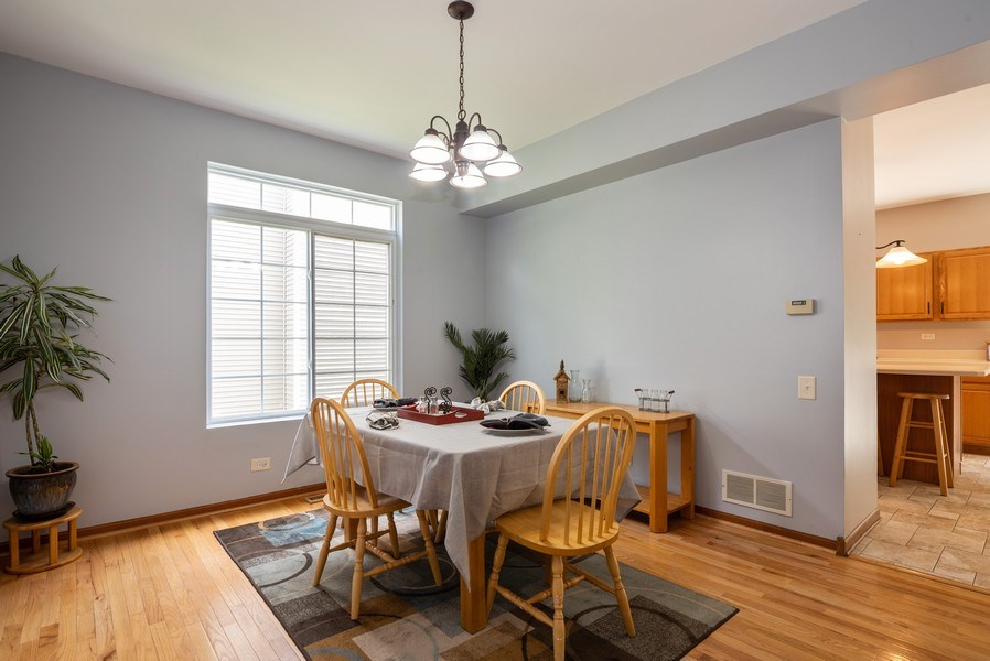 Real Estate Photography - 3 Fieldcrest Court, Algonquin, IL, 60102 - Dining Room