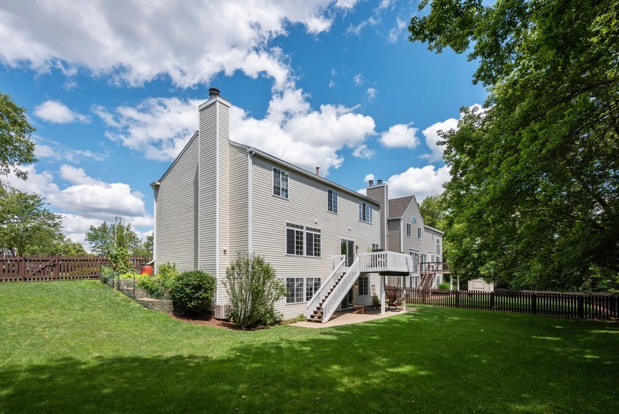 Real Estate Photography - 3 Fieldcrest Court, Algonquin, IL, 60102 - Rear View