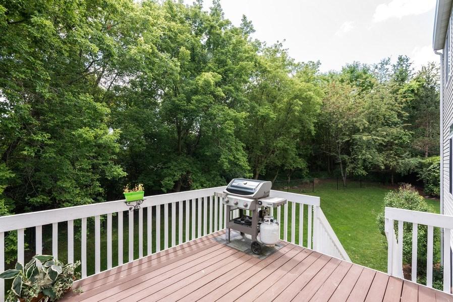 Real Estate Photography - 3 Fieldcrest Court, Algonquin, IL, 60102 - Deck