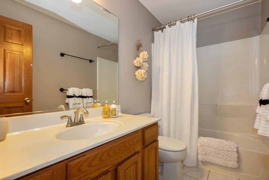 Real Estate Photography - 3 Fieldcrest Court, Algonquin, IL, 60102 - 2nd Bathroom
