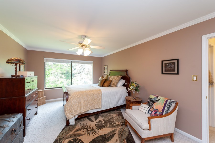 Real Estate Photography - 801 Oak Hill Road, Unit 471, Lake Barrington, IL, 60010 - Master Bedroom