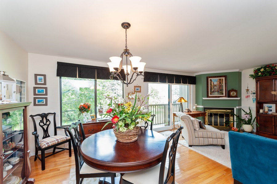Real Estate Photography - 801 Oak Hill Road, Unit 471, Lake Barrington, IL, 60010 - Dining Room
