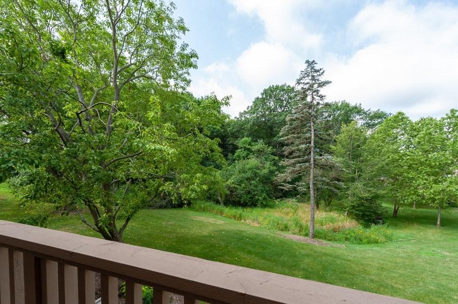 Real Estate Photography - 801 Oak Hill Road, Unit 471, Lake Barrington, IL, 60010 - Balcony