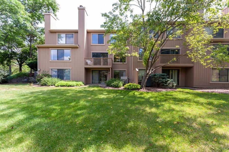 Real Estate Photography - 801 Oak Hill Road, Unit 471, Lake Barrington, IL, 60010 - Rear View