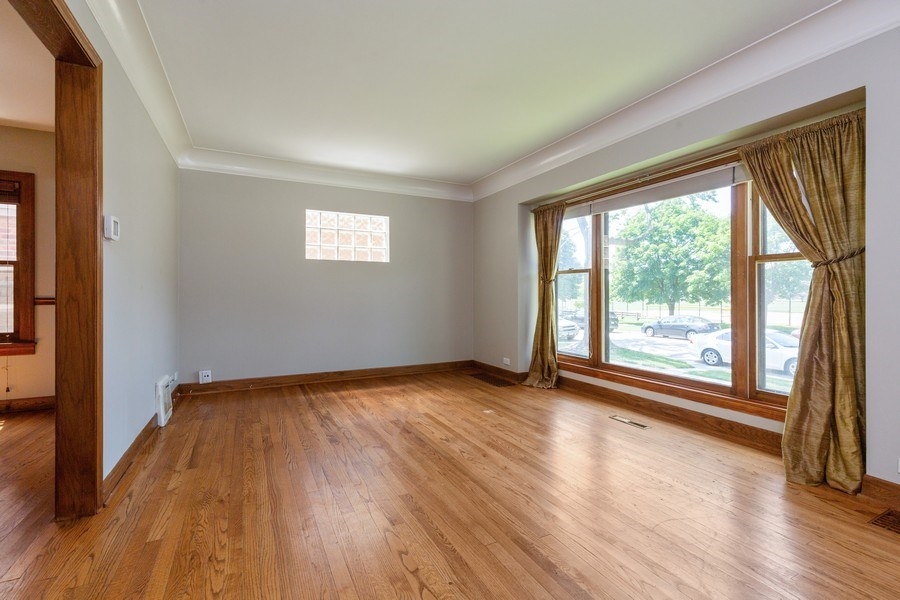 Real Estate Photography - 6443 N. Ogallah Avenue, Chicago, IL, 60631 - Living Room