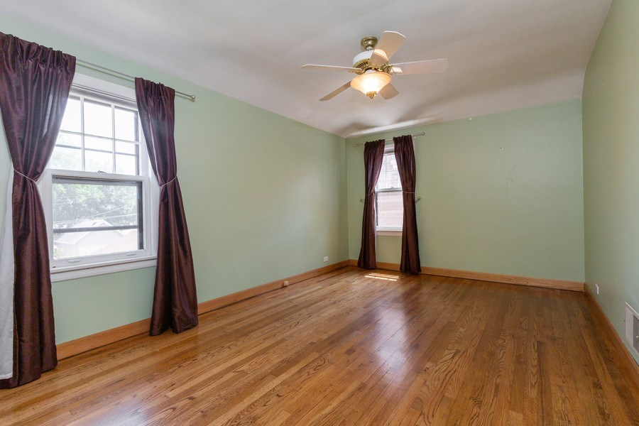 Real Estate Photography - 6443 N. Ogallah Avenue, Chicago, IL, 60631 - 2nd Bedroom
