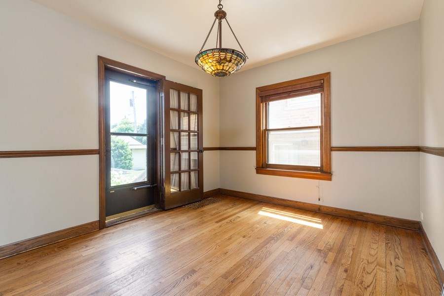 Real Estate Photography - 6443 N. Ogallah Avenue, Chicago, IL, 60631 - Dining Room