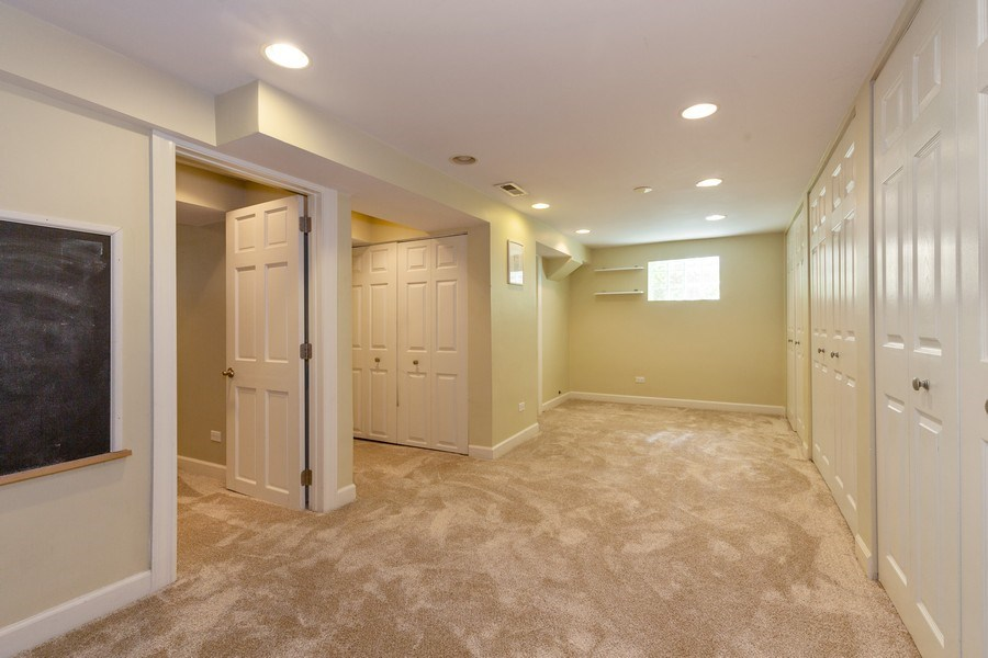 Real Estate Photography - 6443 N. Ogallah Avenue, Chicago, IL, 60631 - Family Room