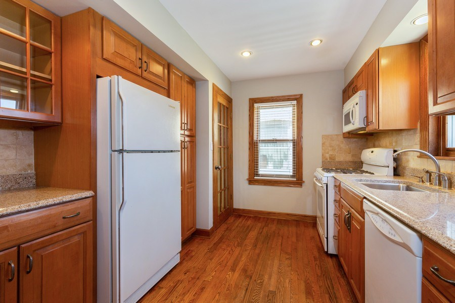 Real Estate Photography - 6443 N. Ogallah Avenue, Chicago, IL, 60631 - Kitchen
