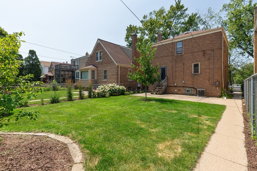 Real Estate Photography - 6443 N. Ogallah Avenue, Chicago, IL, 60631 - Rear View