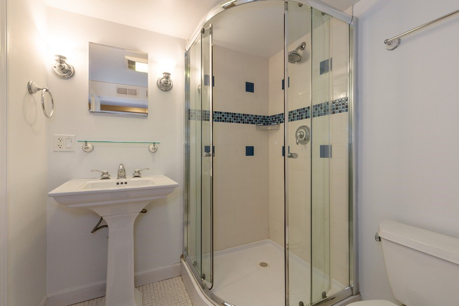 Real Estate Photography - 6443 N. Ogallah Avenue, Chicago, IL, 60631 - 2nd Bathroom