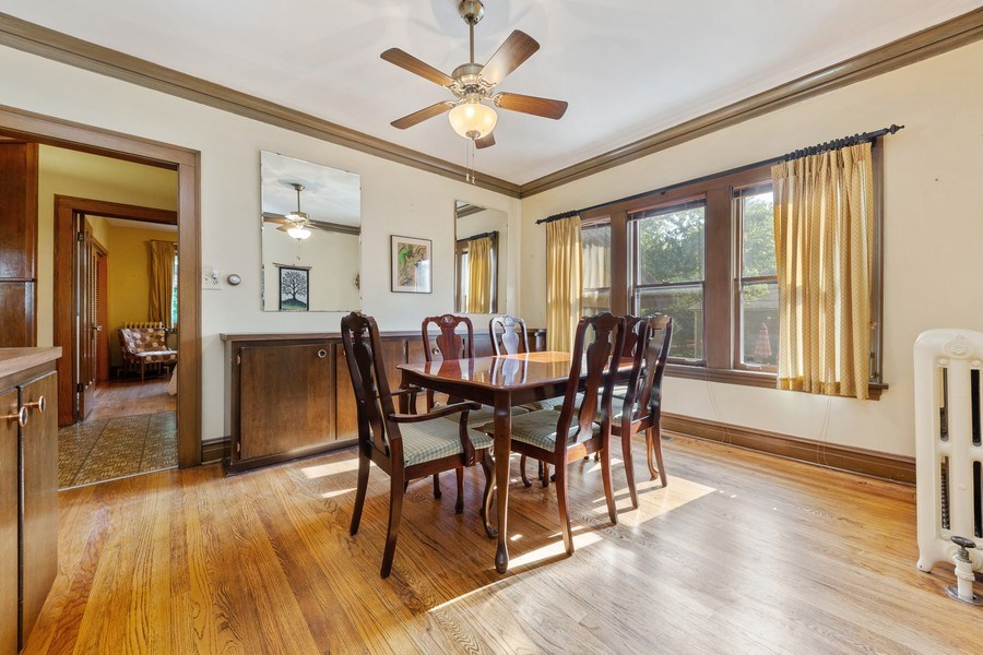 Real Estate Photography - 264 Addison Rd, Riverside, IL, 60546 - Dining Room