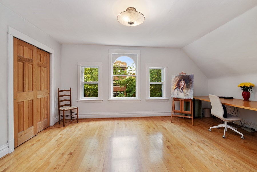 Real Estate Photography - 1440 W. Rascher Ave, Chicago, IL, 60640 - 3rd Bedroom