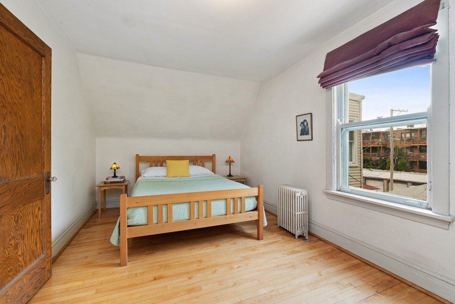 Real Estate Photography - 1440 W. Rascher Ave, Chicago, IL, 60640 - Bedroom