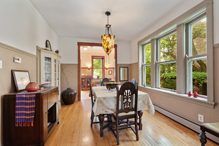 Real Estate Photography - 1440 W. Rascher Ave, Chicago, IL, 60640 - Dining Room