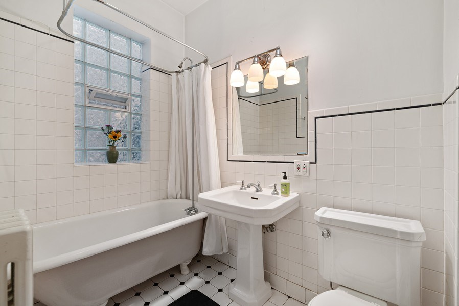 Real Estate Photography - 1440 W. Rascher Ave, Chicago, IL, 60640 - 2nd Bathroom