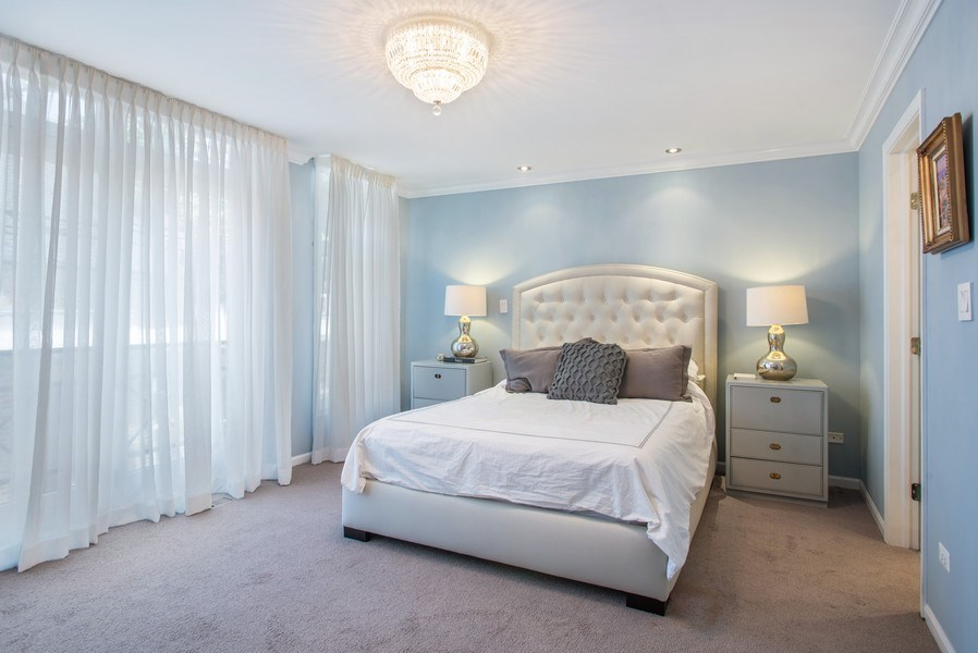 Real Estate Photography - 930 N. Clark Street, Unit E, Chicago, IL, 60610 - Master Bedroom