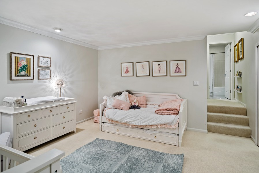 Real Estate Photography - 930 N. Clark Street, Unit E, Chicago, IL, 60610 - 2nd Bedroom