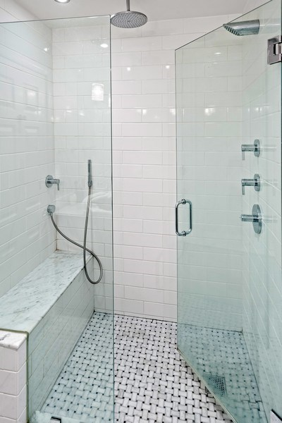 Real Estate Photography - 930 N. Clark Street, Unit E, Chicago, IL, 60610 - Master Bathroom