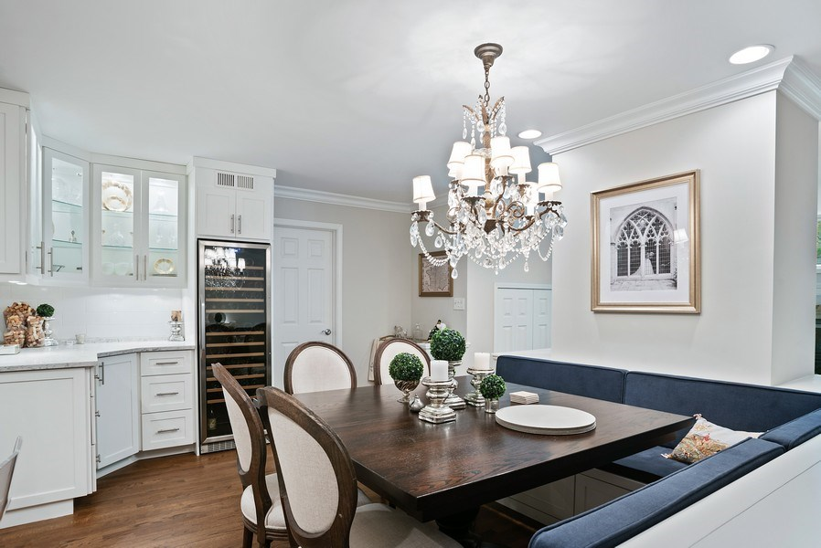 Real Estate Photography - 930 N. Clark Street, Unit E, Chicago, IL, 60610 - Dining Room