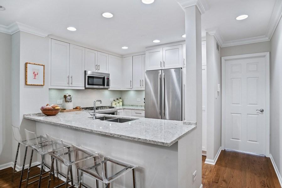 Real Estate Photography - 930 N. Clark Street, Unit E, Chicago, IL, 60610 - Kitchen