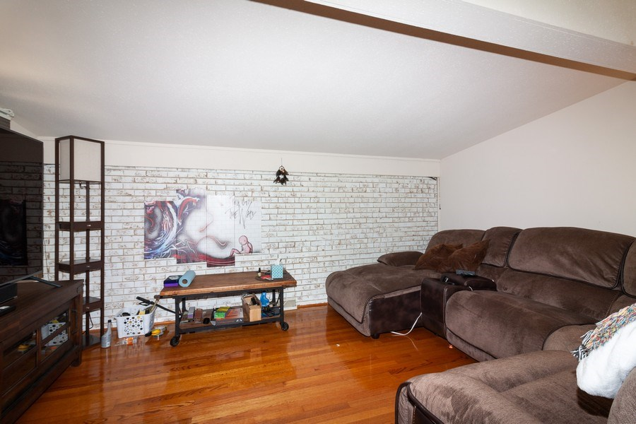 Real Estate Photography - 17W062 Hawthorne Avenue, Bensenville, IL, 60106 - Living Room