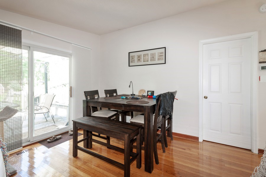 Real Estate Photography - 17W062 Hawthorne Avenue, Bensenville, IL, 60106 - Dining Area