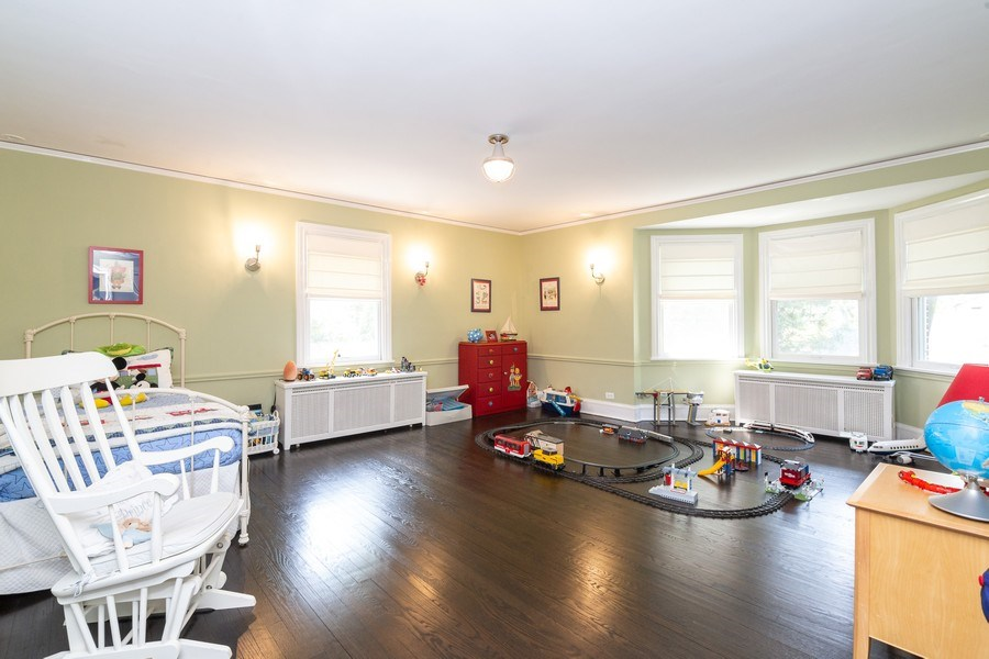 Real Estate Photography - 1330 Westmoor Trail, Winnetka, IL, 60093 - 3rd Bedroom