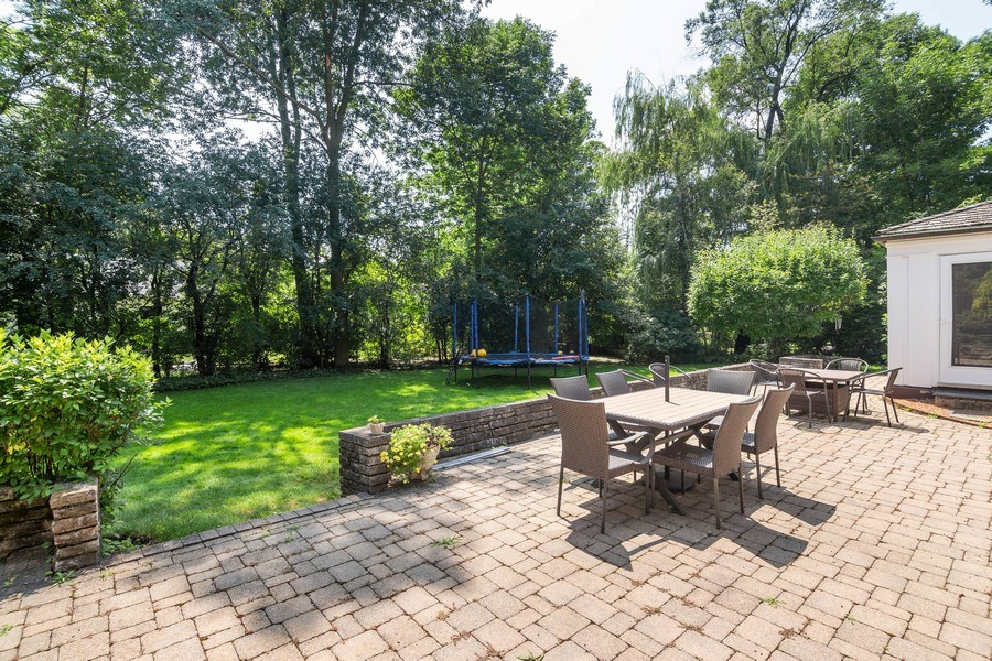 Real Estate Photography - 1330 Westmoor Trail, Winnetka, IL, 60093 - Patio and Backyard