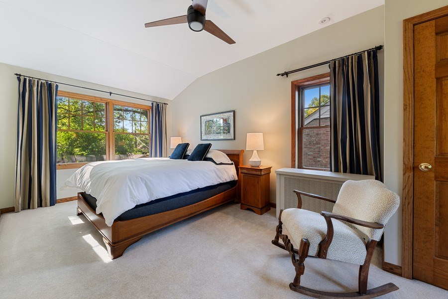Real Estate Photography - 133 Barrypoint Rd, Riverside, IL, 60546 - Master Bedroom